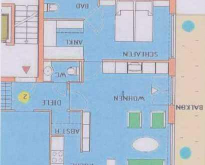 Schöne 3-Zimmer-Wohnung mit Balkon und EBK in Achim