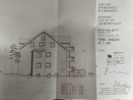 Gepflegte Wohnung mit vier Zimmern und Balkon in Mössingen
