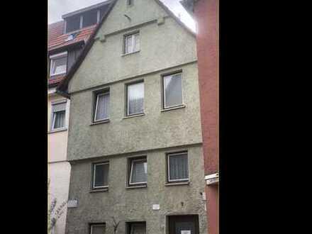 Zentral gelegenes Baugrundstück mit Abrissgebäude in der Fußgängerzone von Aalen