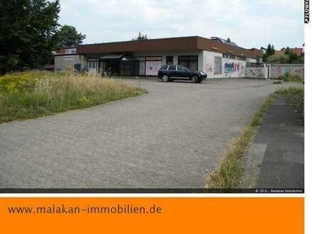 Gewerbe-/Lagerhalle in Detmold mit Freifläche