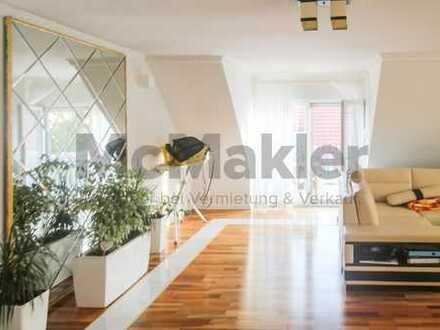 Ein rundum elegantes Eigenheim: Gehobene 4-Zi.-Maisonettewohnung mit Balkon nahe Herzogenaurach