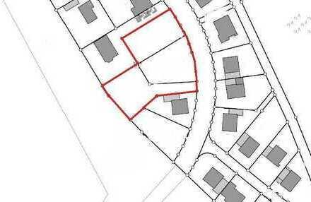 Sie hier ! Wir auch ?......Seltene Gelegenheit.....Tolles Grundstück ca. 1462 m² Waldrandlage......