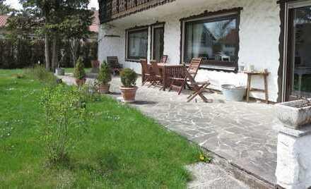 Hurlach - Sonnige und großzügige 4-Zimmer-Gartenwohnung, vollständig renoviert