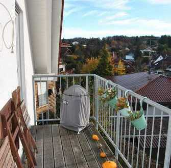 Helle, moderne und ruhige 3,5-Zimmer-DG-Wohnung mit Balkon, EBK in Daisendorf