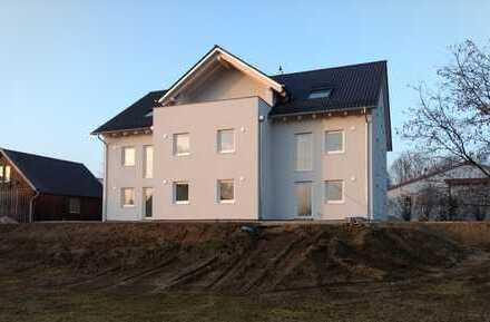 Erstbezug: schöne, helle 4-Zi-Wohnung mit Dachterrasse in Langquaid