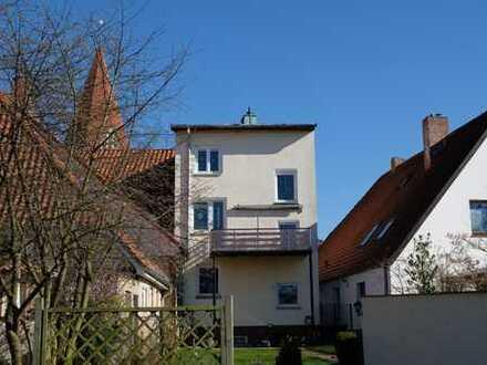 Schloßstadt Klütz - Zentral gelegenes Stadthaus mit Gewerbe- und Wohnanteil
