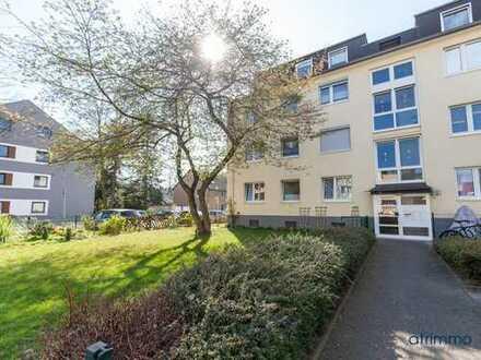 Lichtdurchflutet und modern! Schöne Zweizimmerwohnung mit großem Sonnenbalkon. In Köln-Porz.