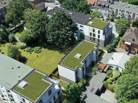 Neubau Eigentumswohnung: 3 Zimmer Penthousewohnung mit Weitblick