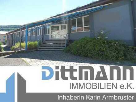 Interessantes Gewerbeobjekt mit Lager-/ Produktionsfläche sowie Büroräumen in Albstadt-Ebingen