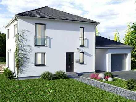 Schicker, bezugsfertiger Neubau - Bodenplatte und Grundstück inklusive!