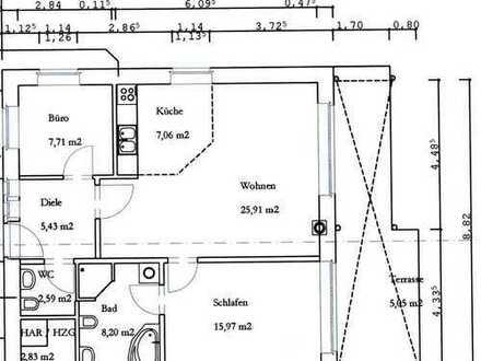 Neuwertige 2-Zimmer-EG-Wohnung in Nottuln