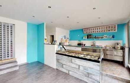 Langfristig vermieteter Eisladen als Anlageobjekt in Philippsburg-Huttenheim!