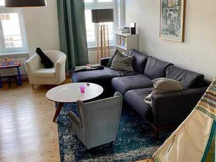 Schöne 3-Zimmer-Wohnung mit Balkon und EBK in Friedrichshain, Berlin (direkt am Volkspark)