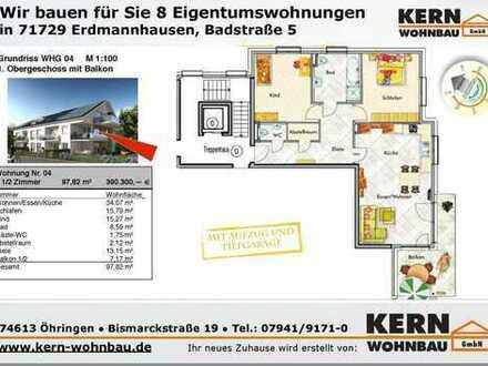 Großzügige 3,5 Zi.-Wohnung im 1.OG. mit Sonnenbalkon WHG_04