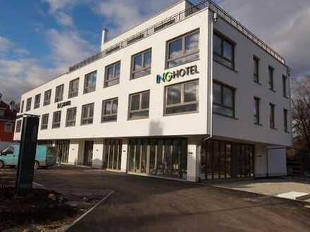 Neubau: Penthouse-Büro mit Innenstadtanschluss