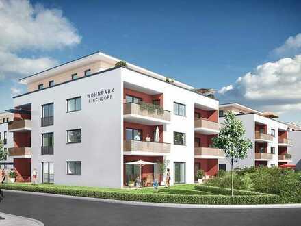 Moderne und neuwertige 2-Zimmer-Wohnung mit Balkon