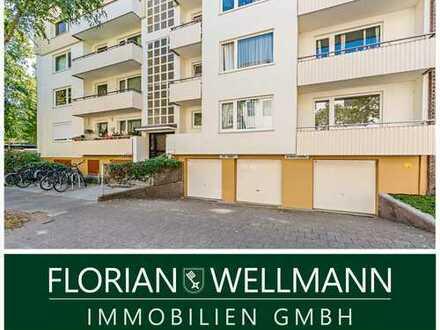 Bremen - Barkhof | Saniertes, luxuriös ausgestattetes 1-Zimmer-Apartment mit Balkon in Toplage