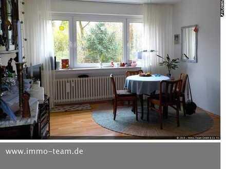 ++++helle 2 Zimmerwohnung mit Balkon und Gartenanteil++++