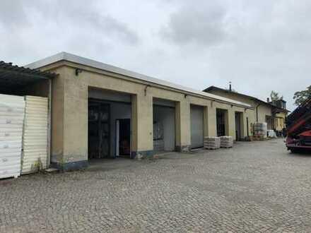 Hallen, Lager und Büro nahe Innenstadt Freiberg