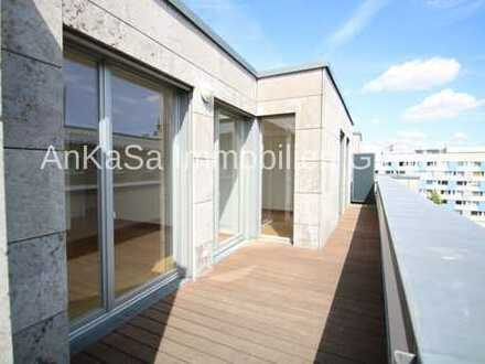 AnKaSa GmbH*4 Zimmer 5.OG*2 Dachterrassen*Lift*Innenstadt am Markt*2 Bäder*TG*ab sofort!