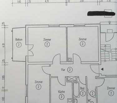 Gepflegte 4-Zimmer-Wohnung mit Balkon in Heilbronn/Käferflug