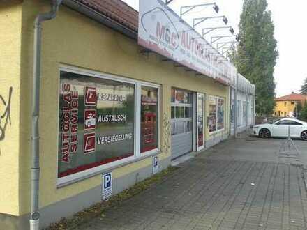 Gewerbegrundstück -Halle- am Rosengarten mit Werkstatt und Büroräumen- verkehrgünstig