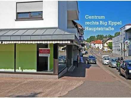 Sehr schöner Geschäftskomplex in einer belebten Straße in Eppelborn mit hohem Potenzial in 1A Lage