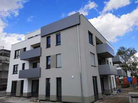 Erstbezug mit Balkon: exklusive 2-Zimmer-Erdgeschosswohnung in Mainz Hechtsheim
