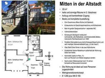 Mitten in Tübingen 3-Zimmer-Wohnung mit Einbauküche