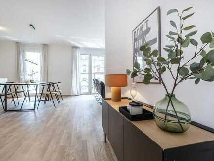 Schicke 4-Zimmer-Wohnungen im 1. bis 3. OG mit TOP-Ausstattung