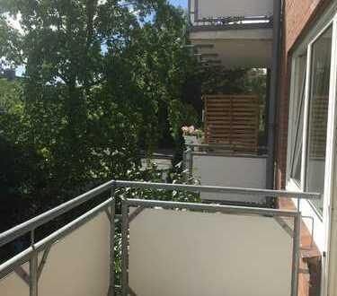 Erstbezug nach Sanierung mit Balkon: schöne 2-Zimmer-Wohnung in Waltrop