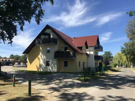 schicke 1 Raum - DG - Wohnung mit EBK und Balkon in Burg (Spreewald) zu vermieten
