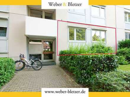 Zentral gelegene 3-Zimmerwohnung in KA-Durlach