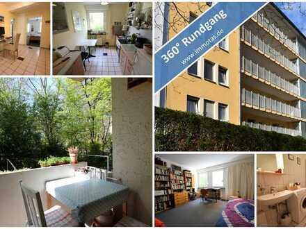 Attraktive 4-Zimmer-Wohnung mit Balkon in ruhiger Lage von Mainz/Neustadt - bezugsfrei ab 01.10.2021