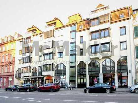 Zentrumsnah und gut angebunden in der Weststadt! Büro-/Praxisflächen in Heidelberger Bestlage!