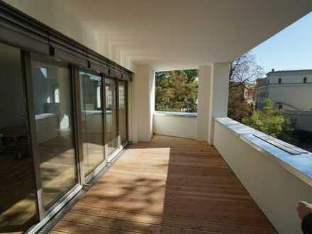 Sonnige Terrassenwohnung mit Wohnbereich von 60 m² - ERSTBEZUG - 850 m bis zur UNI KLINIK