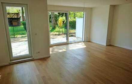 Sonnige Maisonette-Wohnung mit Garten-Terrasse, S-Bahn-Nähe *Erstbezug