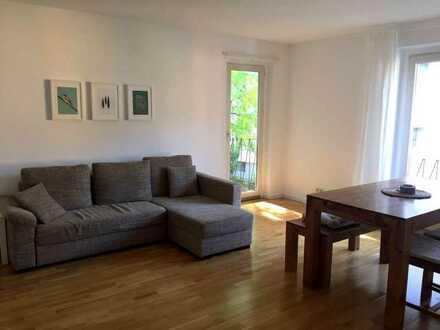 3 Zimmer, Balkon, 6-30 Monate - vollständig eingerichtet