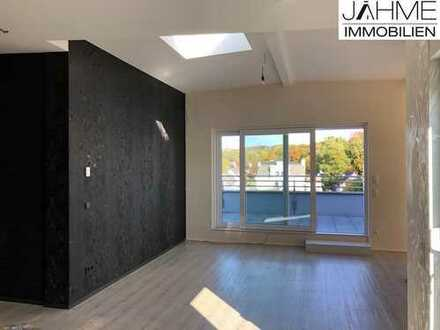 Exklusive Penthouse-Wohnung mit Dachterrasse und Garage am Stadtrand von Schwelm!