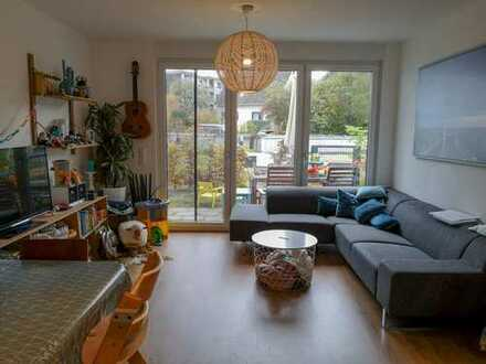 Moderne 3-Zimmer Gartengeschoß Wohnung mit Terrasse, Fußbodenheizung und 2 Bädern, Bonn-Beuel