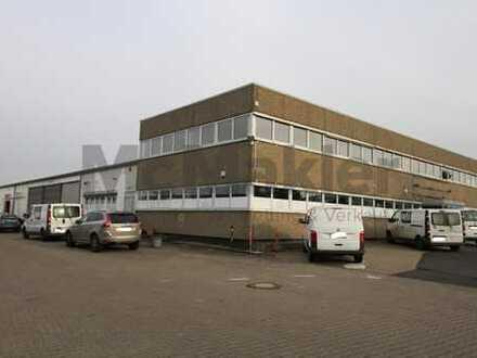 Riesiger Gewerbekomplex mit Wohnung, Büros, Lagerhalle und Verkaufsraum!