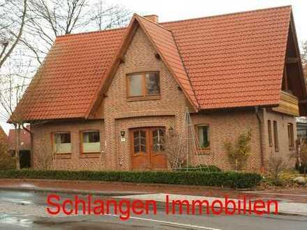 Objekt-Nr. 00/617 Oberwohnung mit Balkon und Carport im Feriengebiet Saterland / OT Scharrel