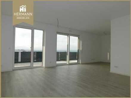 Neubau Erstbezug! 2- Zi.-Penthouse-Wohnung mit Dachterrasse in Karben