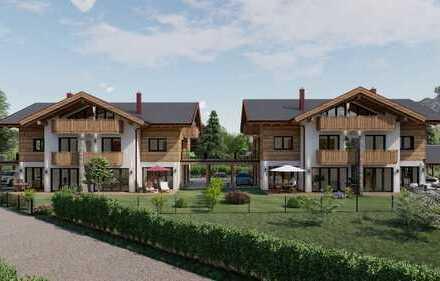 Direkt vom Bauträger: Wohnen im Stil einer DHH in Bestlage von Garmisch