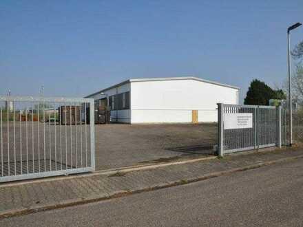 Produktions- / Lagerhalle ca. 775 m² in Rheinmünster - zu vermieten
