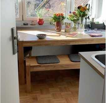 Helle Wohnung mit 1,5 Zimmern sowie Balkon und EBK, neues Bad in Windach