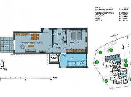 Schöne, geräumige zwei Zimmer Wohnung in Augsburg (Kreis), Untermeitingen
