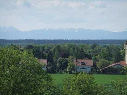 Dachterrassen-Wohnung mit einzigartigem Blick in die Alpen