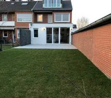Modernisiertes Reihenendhaus Mönchengladbach-Windberg mit Garten