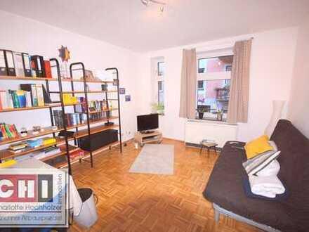 München Zentrum / Glockenbachviertel - klassische 2-Zimmer-AB-Wohnung
